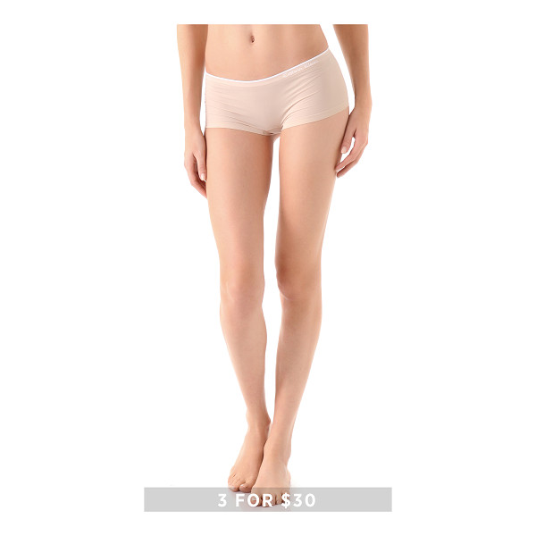 CALVIN KLEIN UNDERWEAR Seamless hipster - Special value! 1 for $12 or 3 for $30. Invisible under even...