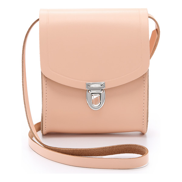 CAMBRIDGE SATCHEL Mini push lock bag - A petite, structured Cambridge Satchel cross body bag with