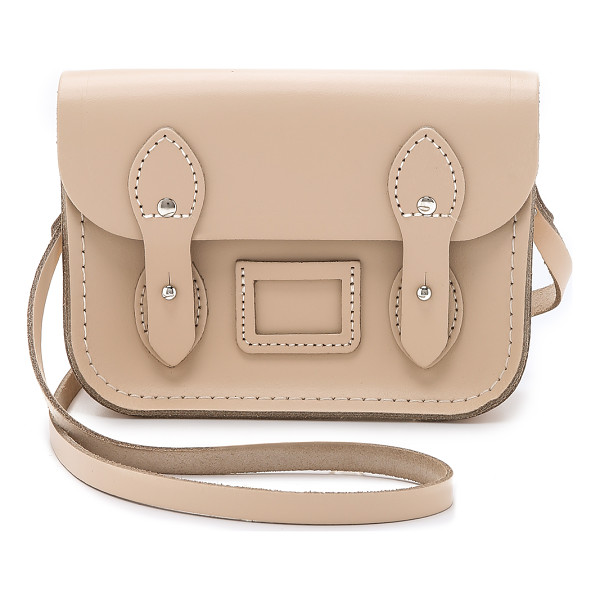 CAMBRIDGE SATCHEL Tiny satchel - A petite Cambridge Satchel cross body bag composed of rigid