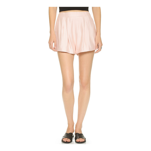 CAMEO Begin again shorts - Sharp pleats lend a formal touch to these flared Cameo...