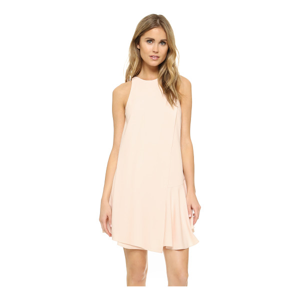 CAMILLA AND MARC Harlequin dress - A draped overlay and flounced hem bring soft volume to this...