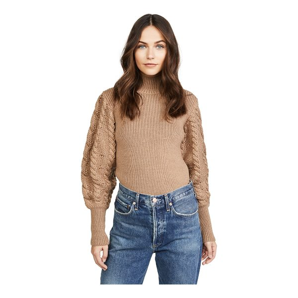 CAROLINE CONSTAS chunky cable knit sweater - An oversized Caroline Constas sweater in a soft, chunky...