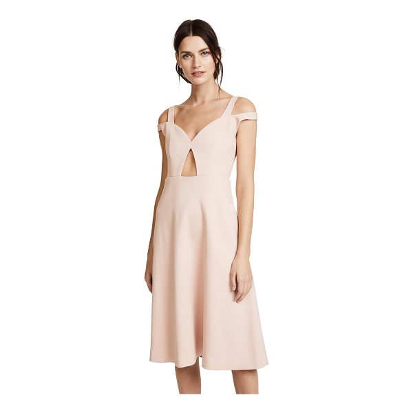 CARVEN cold shoulder dress - This elegant Carven cocktail dress is updated with a bodice...