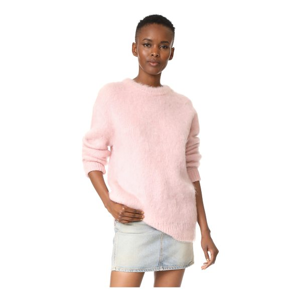 CARVEN long sleeve pullover - This oversized Carven sweater has a cozy feel with mohair...