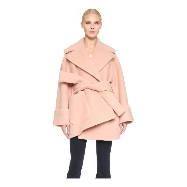 CARVEN Oversized coat - A cozy Carven jacket in thick wool felt. Sophisticated,...