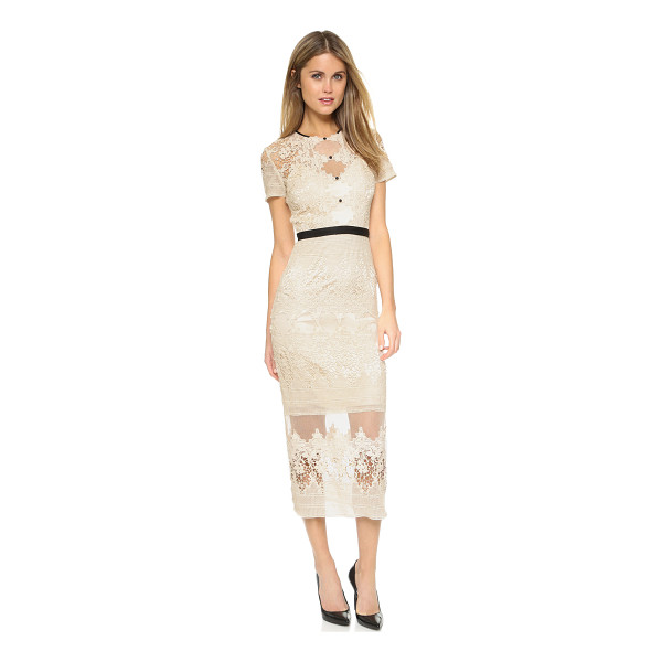 CATHERINE DEANE Forever dress - An elegant Catherine Deane dress composed of crocheted lace...