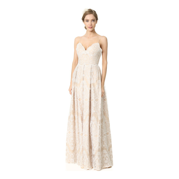 CATHERINE DEANE helena gown - Intricate embroidery accentuates the elegant, graceful look...