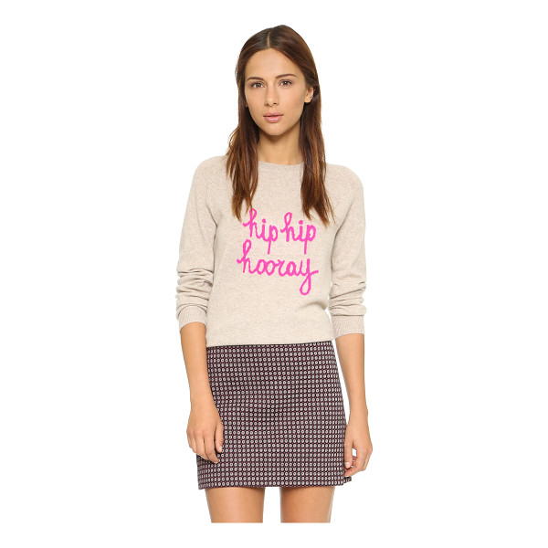 CHINTI AND PARKER Hooray sweater - A luxe Chinti and Parker sweater rendered in soft cashmere....