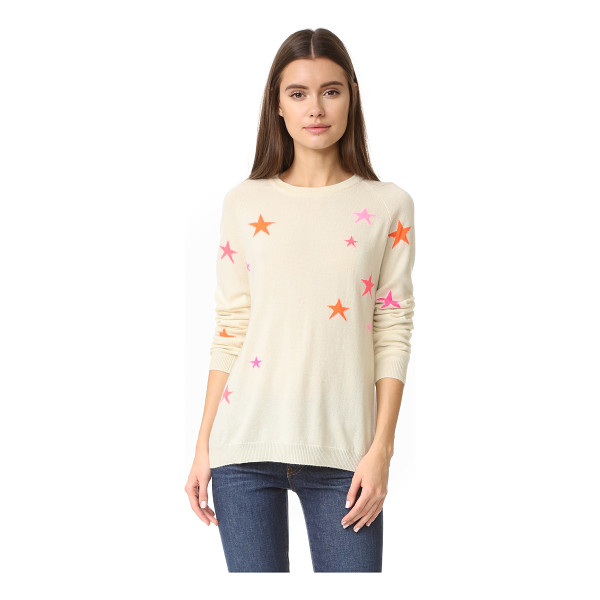 CHINTI AND PARKER slouchy star cashmere sweater - A slouchy Chinti and Parker sweater in cozy cashmere,...
