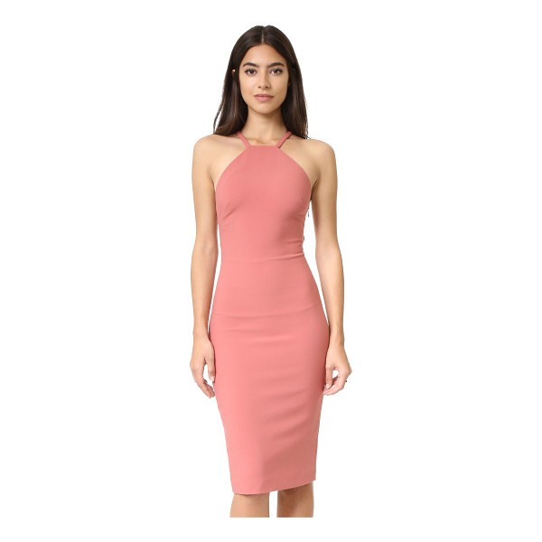 CINQ A SEPT angel dress - A contoured cinq a sept dress with a polished ring in back....