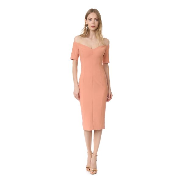 CINQ A SEPT birch dress - This tailored Cinq a Sept dress is styled with a wide V...