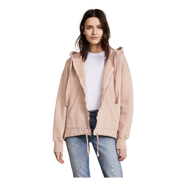 CITIZENS OF HUMANITY harper oversize hoodie - Fabric: French terry Pullover sweatshirt style Waist-length...