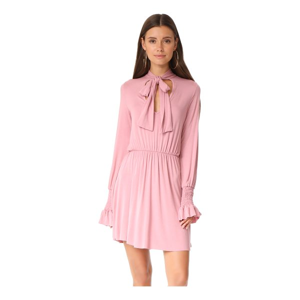 CLAYTON camden dress - This soft CLAYTON dress is accented with a sash at the V...