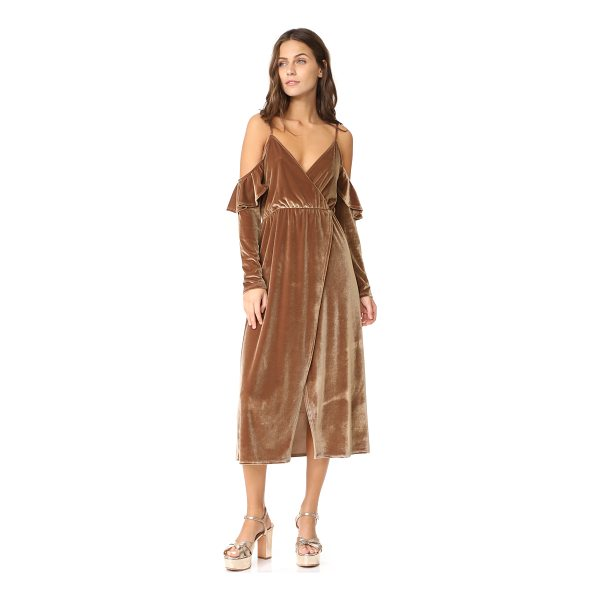 CLAYTON velour sandee dress - This retro-inspired CLAYTON dress is composed of soft...