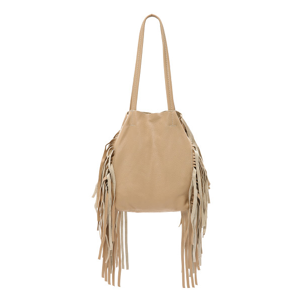 CLEOBELLA Hendrix small tote - A slouchy Cleobella tote in pebbled leather, accented with
