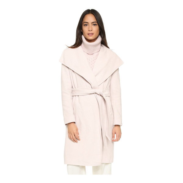 CLUB MONACO Abarane coat - A sophisticated Club Monaco overcoat, rendered in a soft...