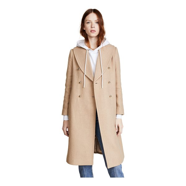 CLUB MONACO cahndisse coat - A chic, classic Club Monaco coat with polished gold-tone...