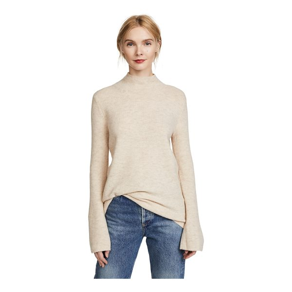 CLUB MONACO cecelia sweater - Fabric: Fine knit Waist-length style Mock neck Long sleeves...