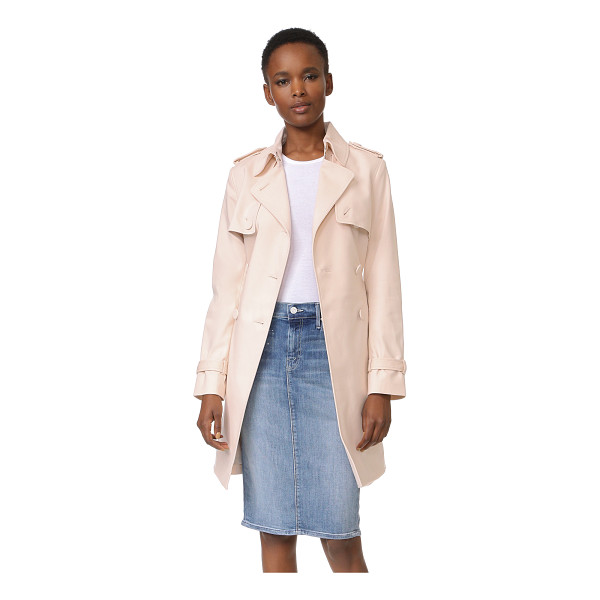 CLUB MONACO farzin trench coat - A menswear inspired Club Monaco trench coat, made feminine...