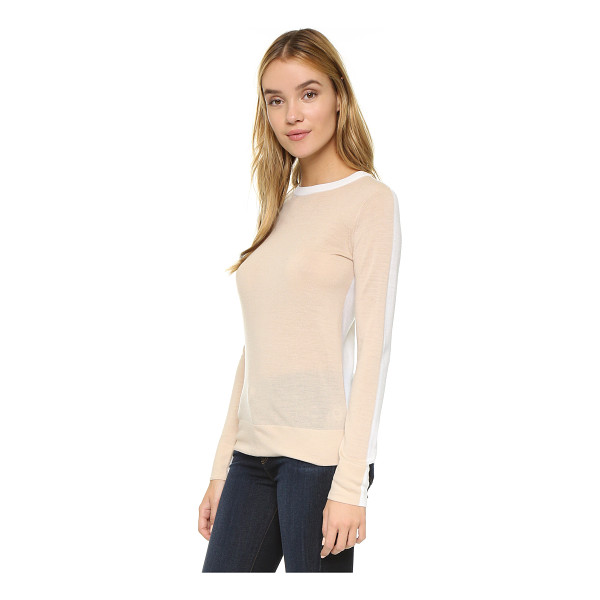 CLUB MONACO Mackenzie back block sweater - A classic, two tone Club Monaco sweater. Double layered...