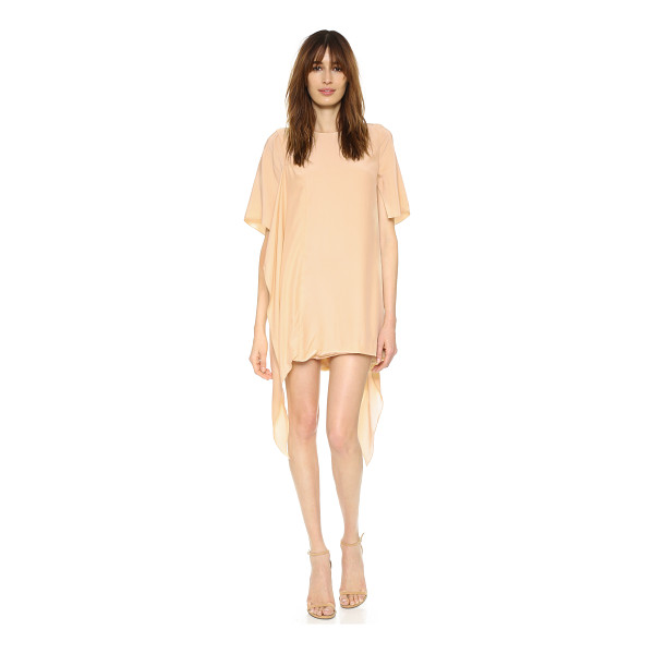 C/MEO COLLECTIVE Disposition dress - Draped, asymmetrical panels bring soft volume to this silk...