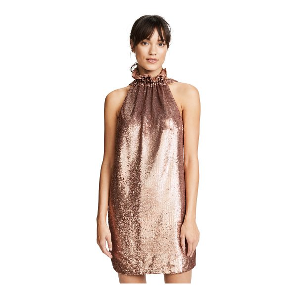 C/MEO COLLECTIVE illuminated dress - Tiny shimmering sequins cover this figure-skimming C/Meo...