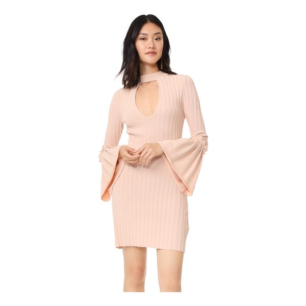 C/MEO COLLECTIVE mind reader knit dress - This wide-ribbed C/Meo Collective dress is styled with a V...