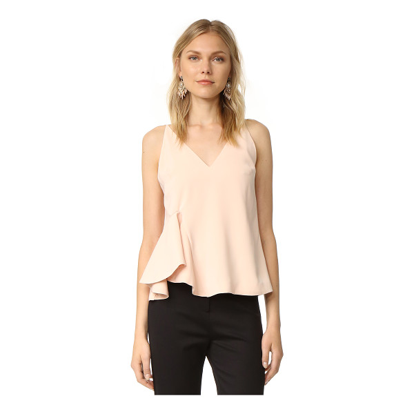 C/MEO COLLECTIVE spelt out cami - A shoulder-baring C/Meo Collective camisole with a flared,...