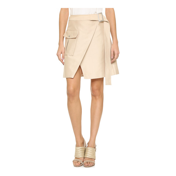 C/MEO COLLECTIVE White walls skirt - A flared C/Meo Collective skirt with crossover panels in...