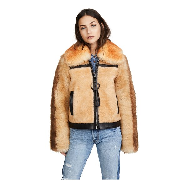COACH 1941 pieced shearling bomber jacket - This luxe Coach 1941 bomber is made from plush shearling...