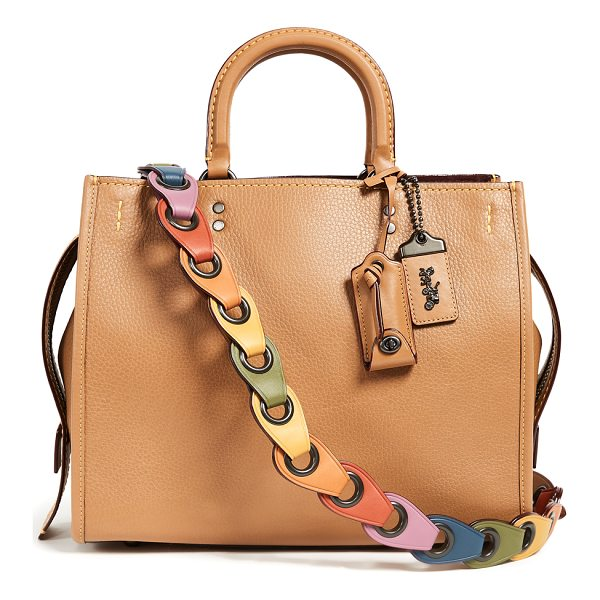 COACH 1941 rogue bag with  link strap - Ideal for everyday use, this Coach 1941 bag is both...