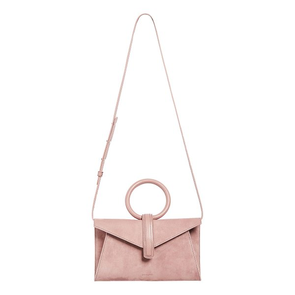 COMPLET valery mini satchel - A round handle adds a modern touch to this scaled-down...