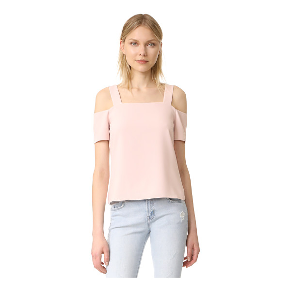 COOPER & ELLA ava cold shoulder top - A sophisticated Cooper & Ella blouse styled with cutouts at...