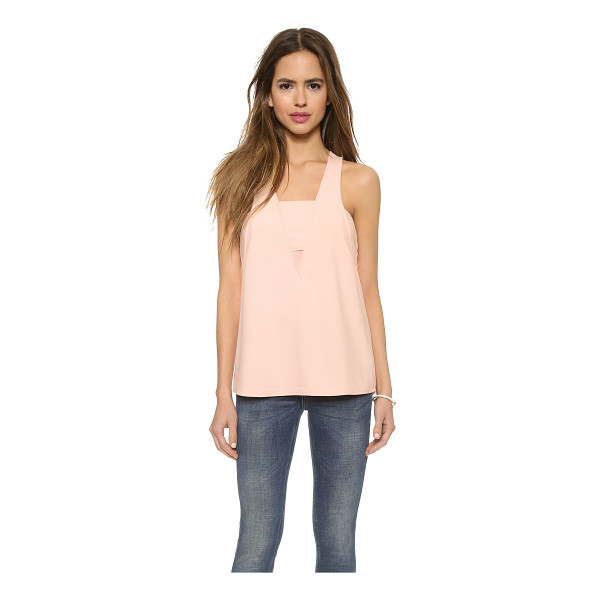 COOPER & ELLA Sydney bandeau tank - Overlapping elements create the illusion of layering on...