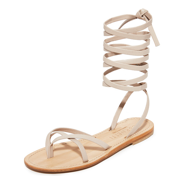 CORNETTI aiano wrap sandals - Slim leather straps compose these refined Cornetti sandals....