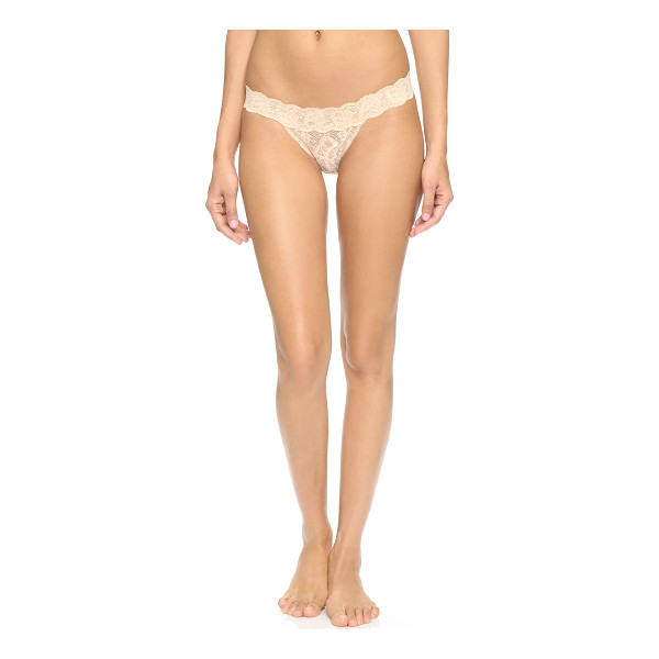 COSABELLA Never say never brazilian minikini panties - Lace brings a touch of romance to these soft Cosabella...