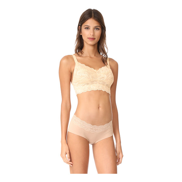 COSABELLA never say never curvy sweetie bra - A signature lace Cosabella bralette, cut to fit larger cup...