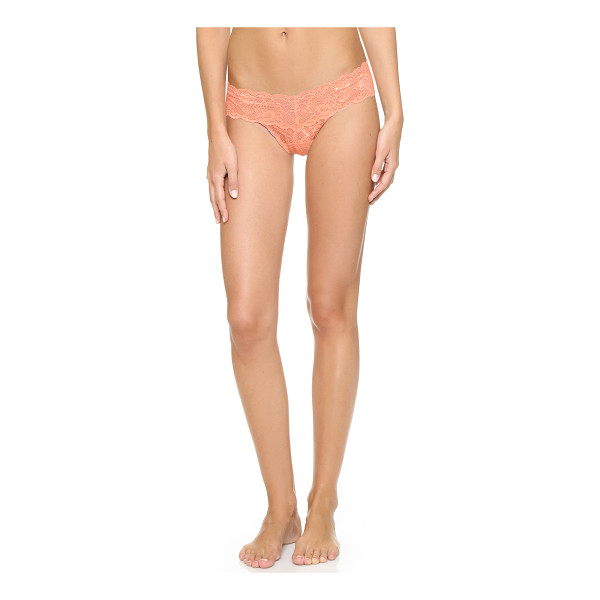 COSABELLA Never say never cutie low rise thong - Delicate stretch lace composes these low rise Cosabella...