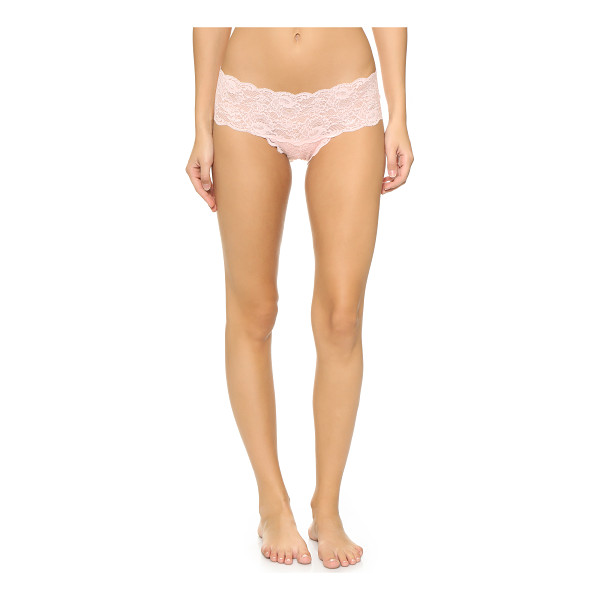 COSABELLA Never say never hottie boy shorts - Lace Cosabella boy shorts with scalloped edges. Semi sheer....