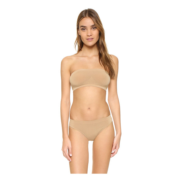 COSABELLA new free bandeau bra - Ribbed insets shape the profile of this simple Cosabella...