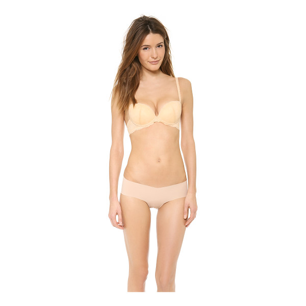 COSABELLA Trenta push up bra - An embroidered lace overlay lends a romantic perspective to...