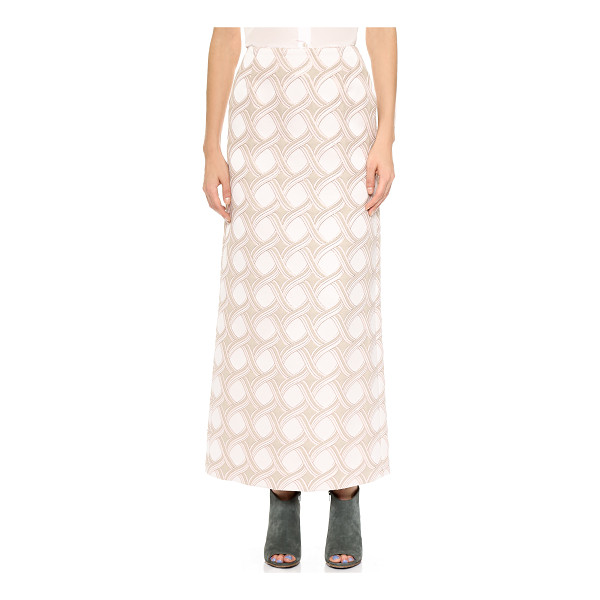 CREATURES OF THE WIND Senna skirt - A cool, lamé accented braid pattern brings ethereal graphic...