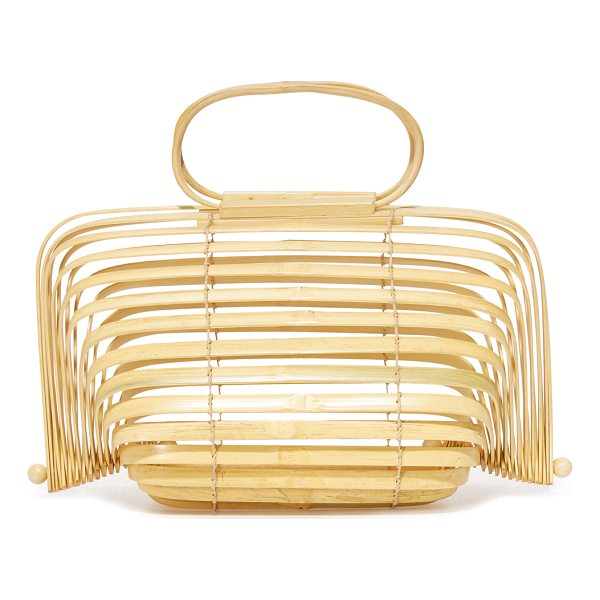 CULT GAIA lilleth bag - This structured Cult Gaia bag with a collapsible silhouette...