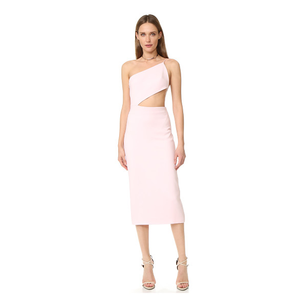CUSHNIE ET OCHS asymmetrical bodice dress - This striking Cushnie Et Ochs cocktail dress cuts a slim,...