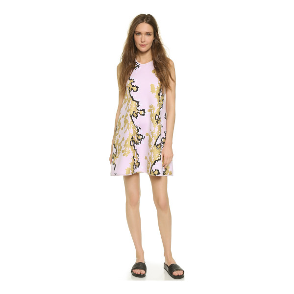 CYNTHIA ROWLEY Bonded racer a line dress - A neoprene Cynthia Rowley dress in a loose, A line profile....