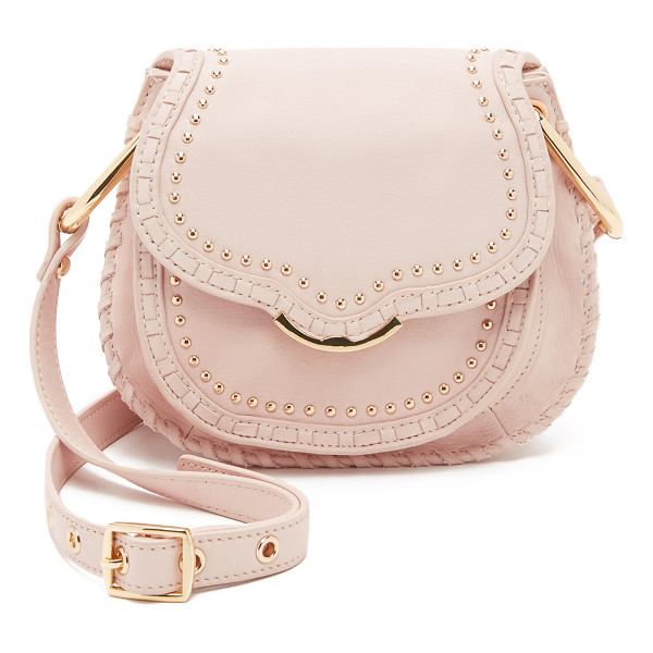 CYNTHIA ROWLEY Phoebe saddle bag - Studs and whipstitching accentuate the classic equestrian