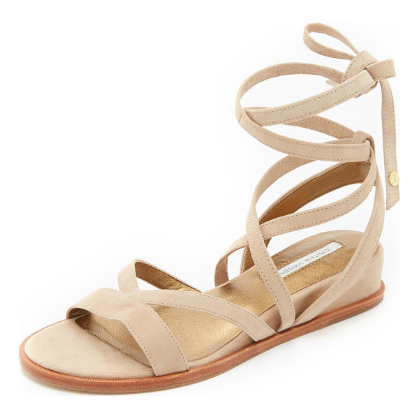 CYNTHIA VINCENT Patience sandals - Cynthia Vincent sandals with soft suede straps and