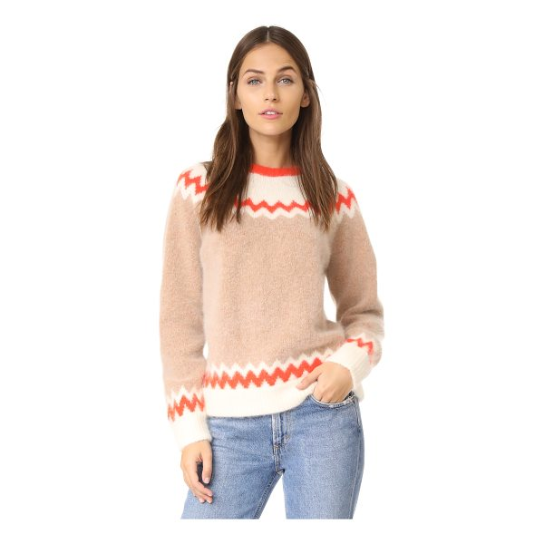 DEMYLEE 10th anniversary ryen sweater - Colorful fair-isle detailing brings a classic feel to this...