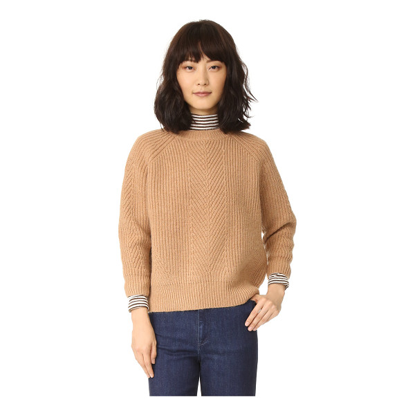 DEMYLEE chelsea sweater - A boxy DEMYLEE sweater in a warm mohair blend. Ribbed edges...