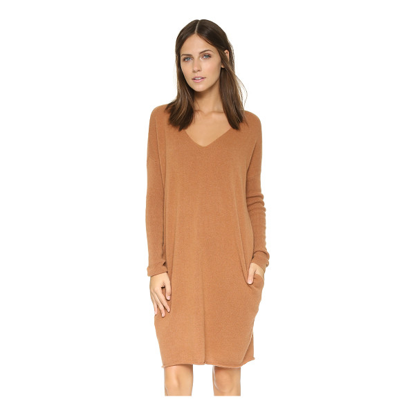 DEMYLEE Dania cashmere tunic dress - Luxurious cashmere lends an elegant touch to this simple...